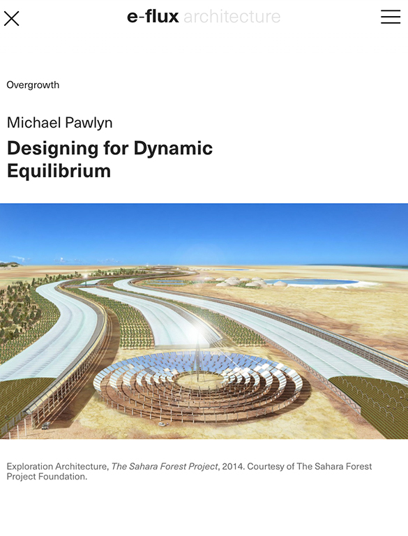 Designing for Dynamic Equilibrium